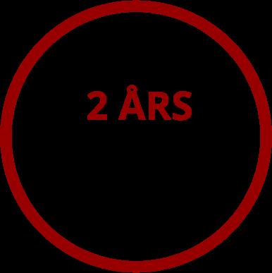 2 års garanti på hvidevare service